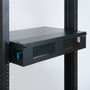 SC-SC Fiber Optic Rack Mount Enclosure Pre-configured with 8 HD Adapter Panels with 96 10G Aqua Fibers