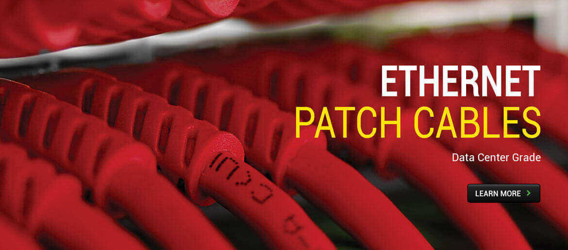 Ethernet Patch Cables - Data Center Grade