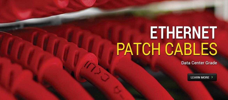 Ethernet Patch Cables - Data Center Grade