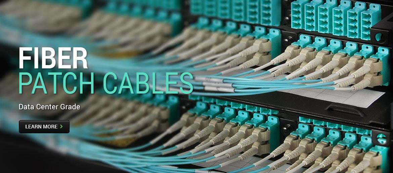 Fiber Patch Cables - Data Center Grade