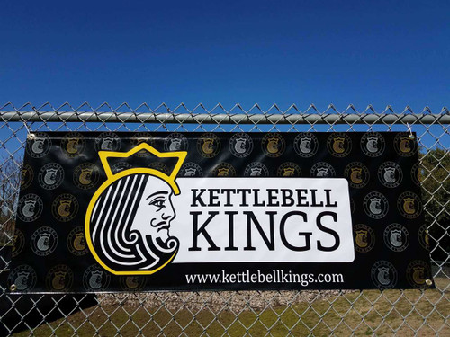 Kettlebell Kings Gym Banner