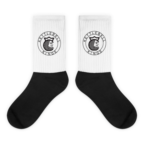 Black foot socks
