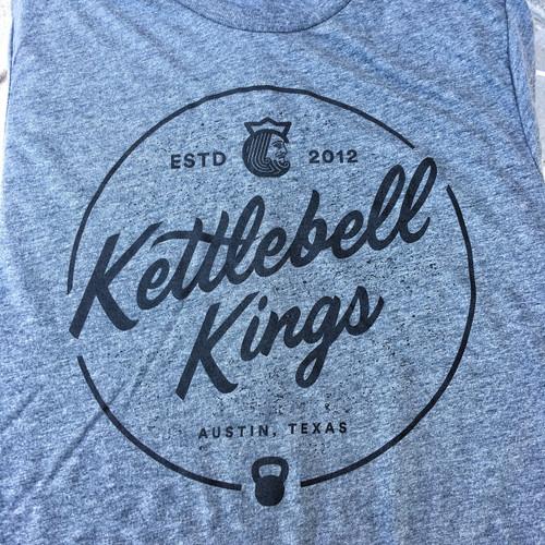 Kettlebell Kings Funday Shirt Gray