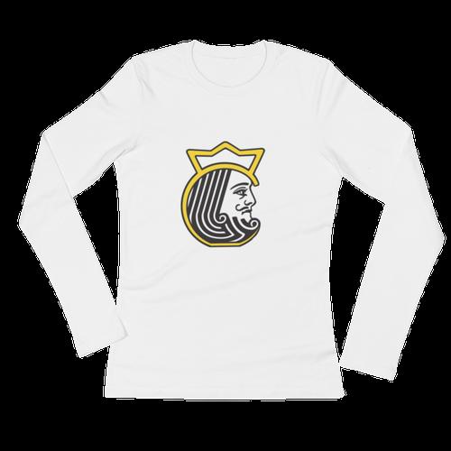 Kettlebell Kings Head Ladies' Long Sleeve T-Shirt