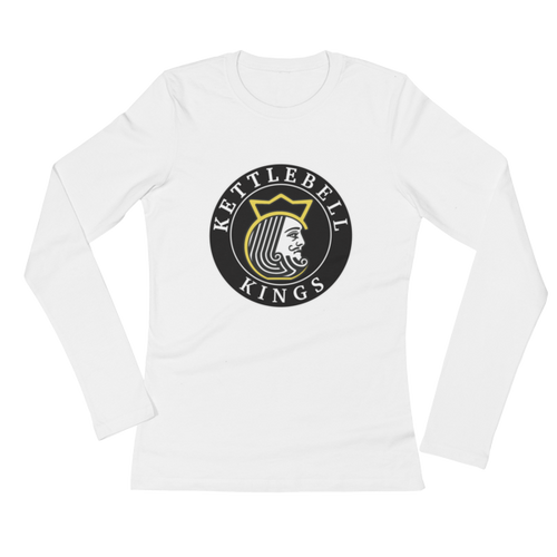 Kettlebel Kings Logo Ladies' Long Sleeve T-Shirt