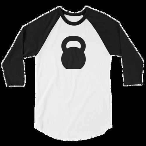 Kettlebell 3/4 Sleeve Raglan Shirt