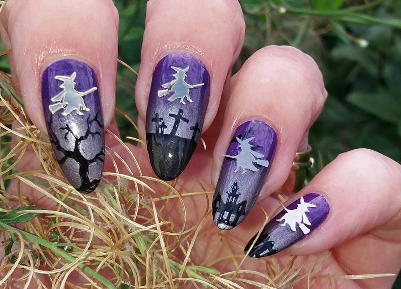 Witch Nail Art Decals