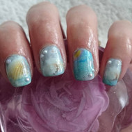 Ocean deep nail art wraps blog