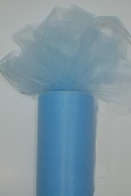 Blue Tulle Fabric