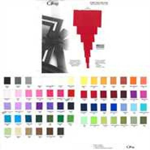 Offray Solid Grosgrain Color Charts