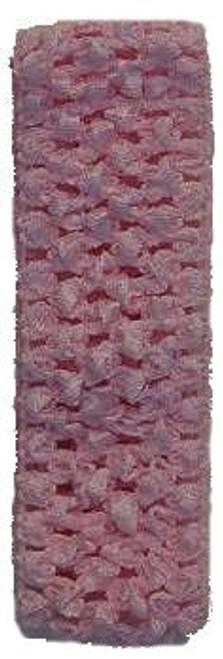 Light Pink Crochet Headband