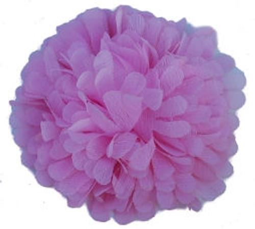 Chiffon flowers -Pink