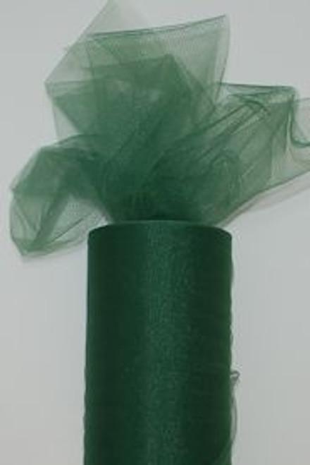 Emerald Tulle Fabric