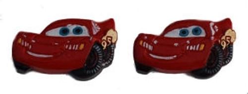 Little Red Car Flatback Resin