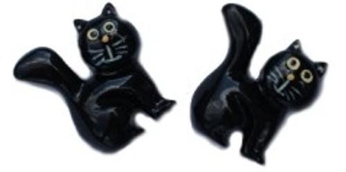 Scaredy Cats Flatback Resin
