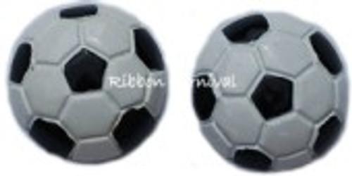 Soccer Ball Flat Back Resins