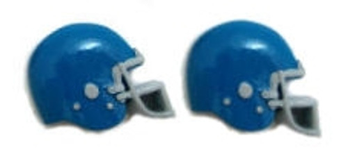 Football Helmet - Blue Flat Back Resins