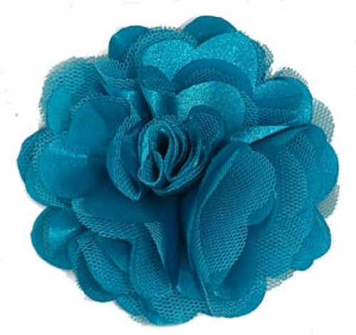 Rosette flowers - Turquoise