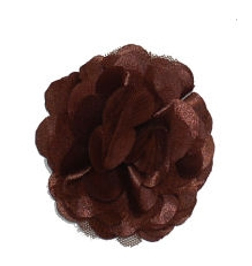 Rosette flowers - Brown