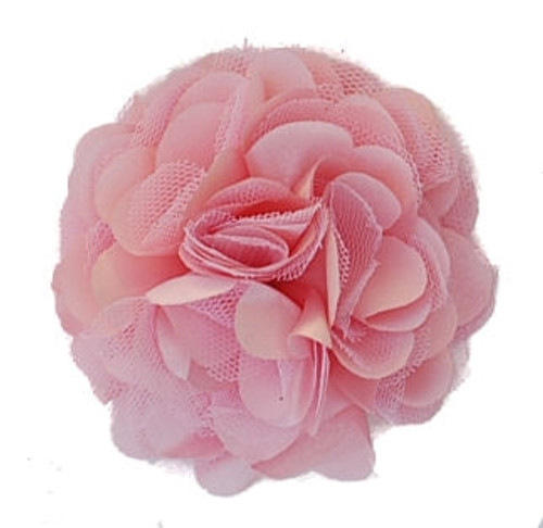 Rosette flowers - Coral