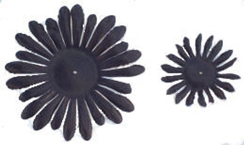 Black Gerber Daisy Petals