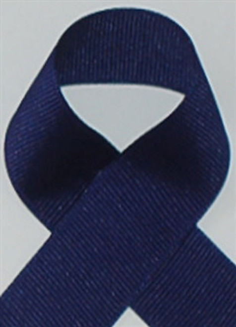 Schiff Light Navy Grosgrain Ribbon