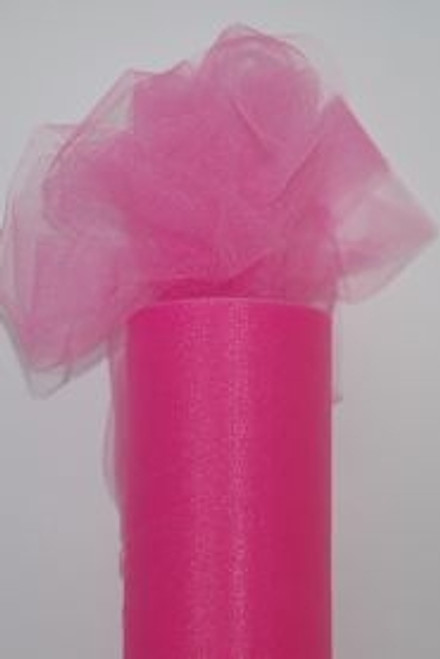 Hot Pink Tulle Fabric