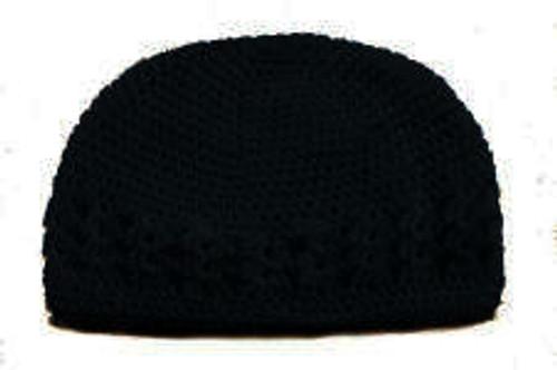 Brown Crochet Kufi Caps