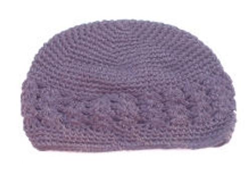 Light Purple Crochet Kufi Caps