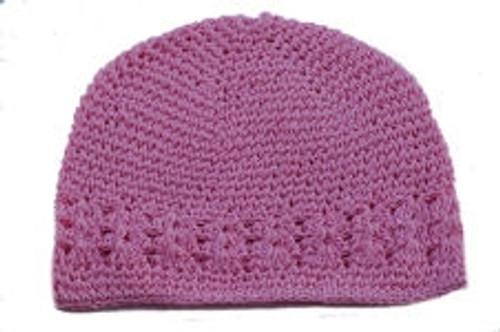 Light Pink Kufi Caps