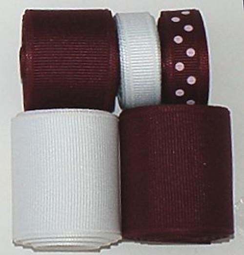 Texas A & M Ribbon Set | College Ribbon