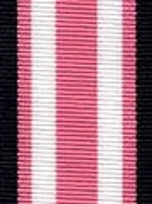 Navy and Pink Preppy Stripe Ribbon