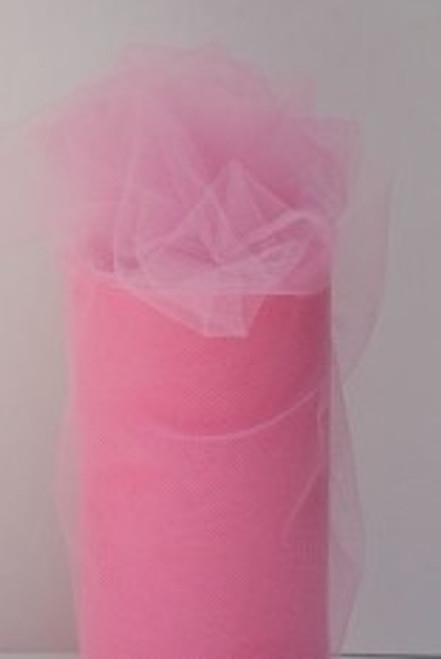 Paris Pink Tulle Fabric