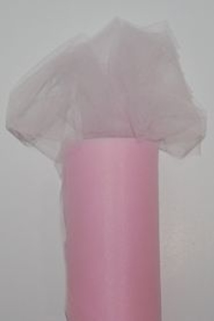 Pink Tulle Fabric