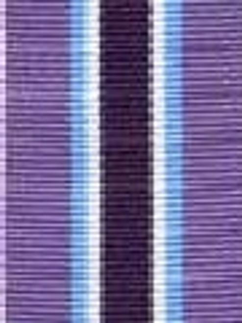 Grape Juice Preppy Stripe Ribbon