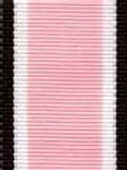 Pink and Brown Preppy Stripe Ribbon