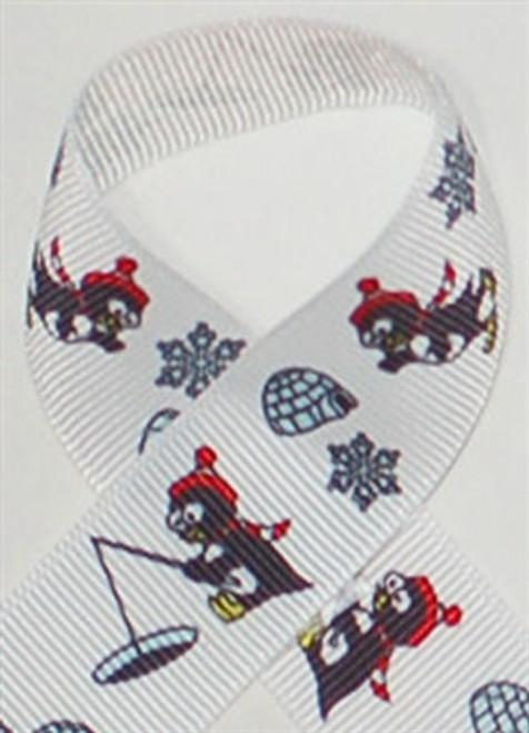 Penguin Grosgrain Ribbon
