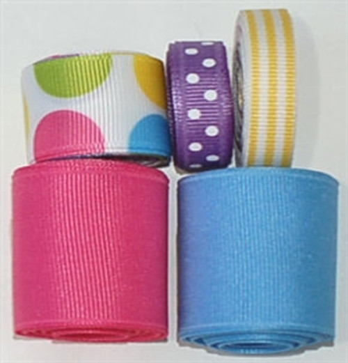 Pastel Dots Ribbon Mix
