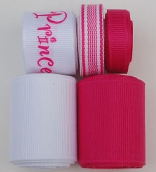 Princess Printed Grosgrain Ribbon Mix