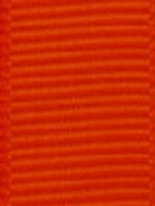 Tangerine Grosgrain Hair Ribbon