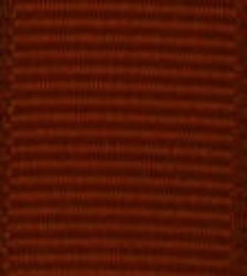 Rust Grosgrain Hair Ribbon