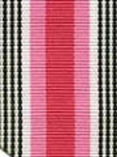 Black Licorice Twist  Preppy Stripe Ribbon