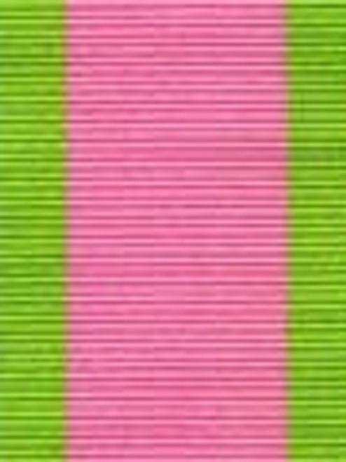 Passion Fruit Preppy Stripe Ribbon