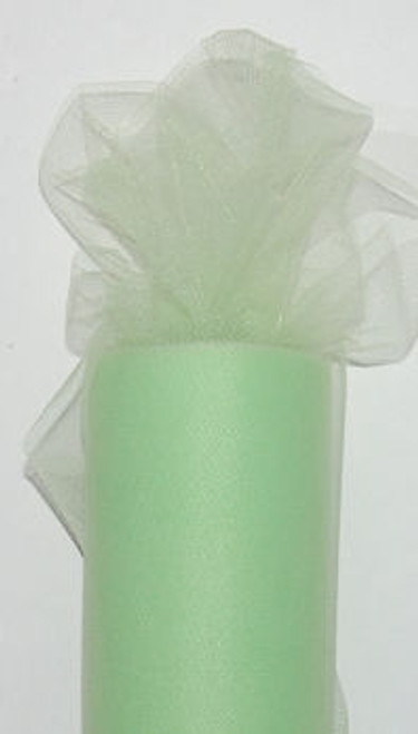 Mint Tulle Fabric