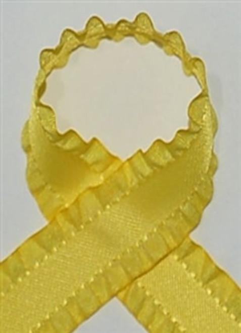 Yellow Ruffle Ribbon