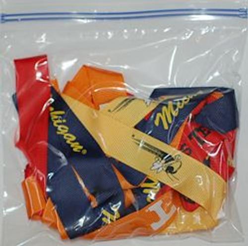 college ribbon grab bags