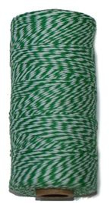 Green Bakers Twine. Great for packaging, crafting and more