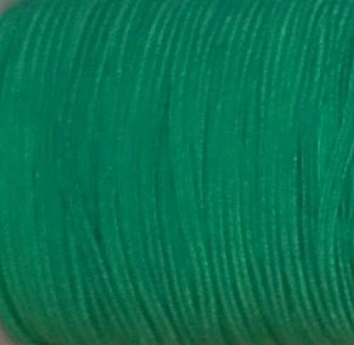 Green Skinny Elastic for sewing, baby headbands and available in 24 colors.