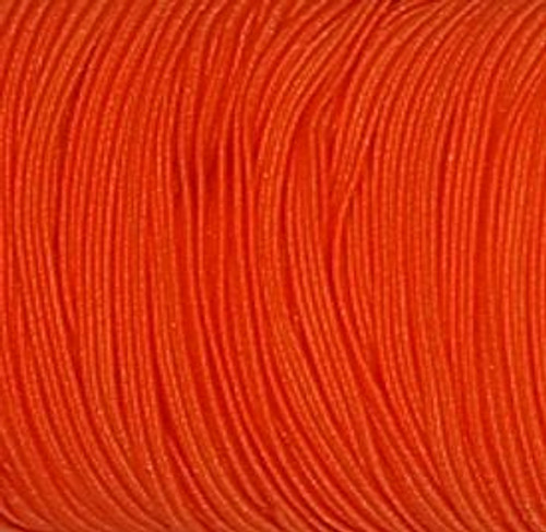 Neon Orange Skinny Elastic for sewing, baby headbands and available in 24 colors