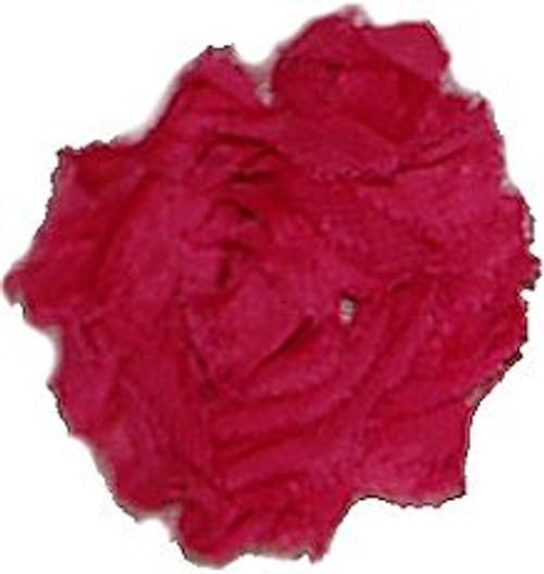 Shocking Pink Shabby Chiffon Flowers